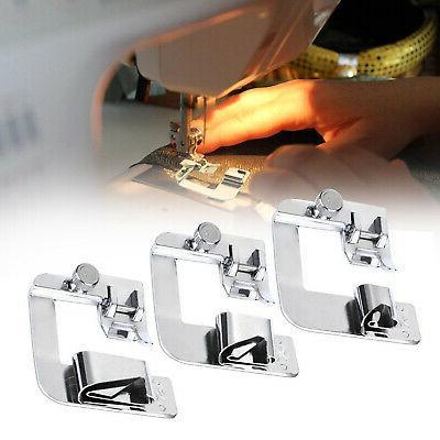3pcs set domestic sewing machine foot presser