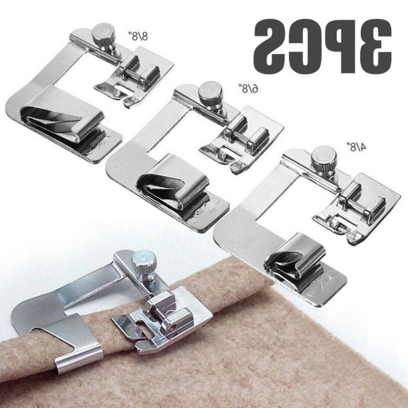 3pcs set domestic sewing machine foot presser