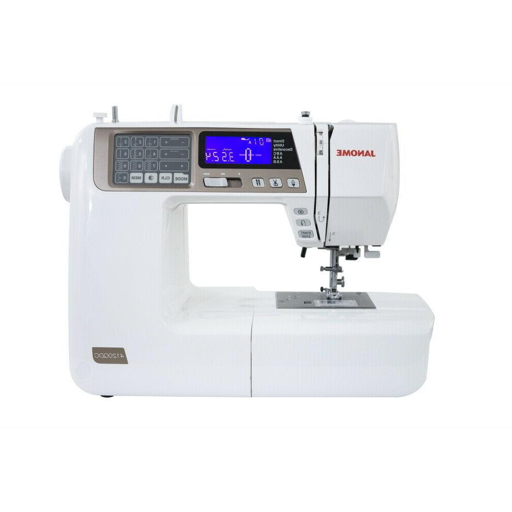4120qdc t gold quilt decor sewing machine