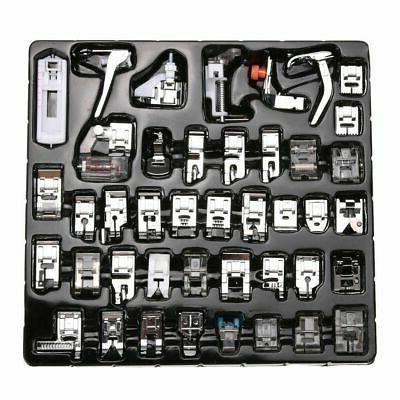 42PCS Domestic Sewing Machine Foot Presser Feet Set For Brot
