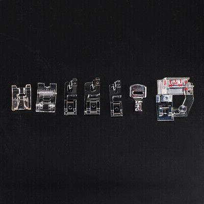 42pcs Domestic Low Shank Sewing Machine Presser Set for