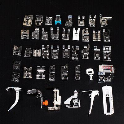 42pcs Sewing Machine Presser Feet Set