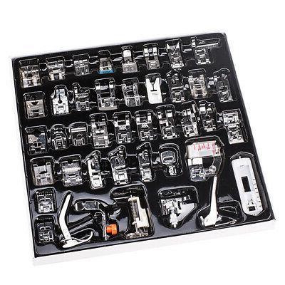 42pcs domestic low shank sewing machine presser