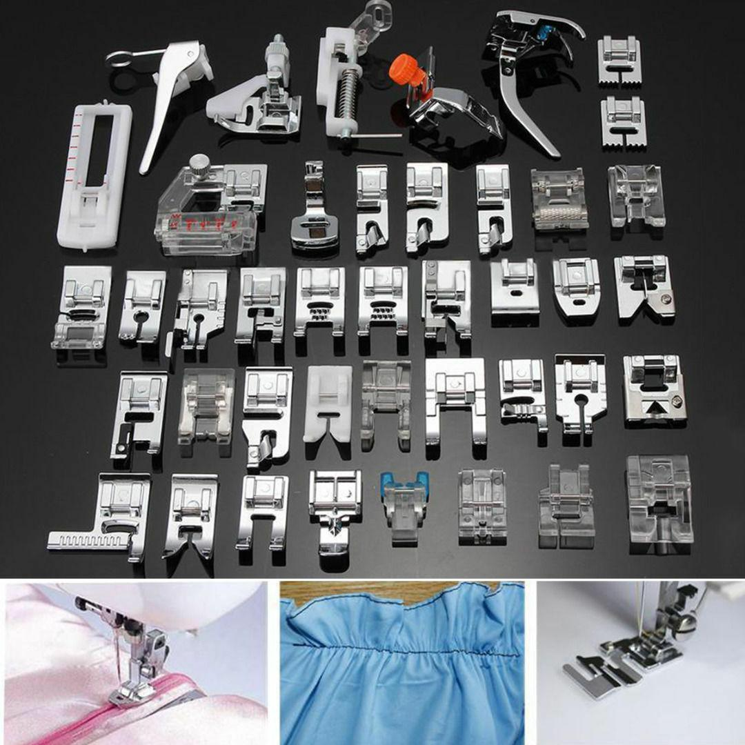 42 PCS Sewing Machine Presser Foot Feet Tool Kit Set For Bro