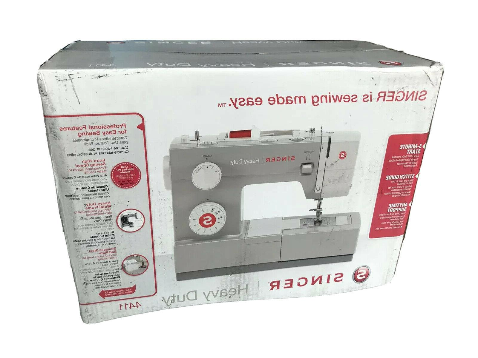 SINGER Duty 120W Sewing - IN HAND, TO SHIP