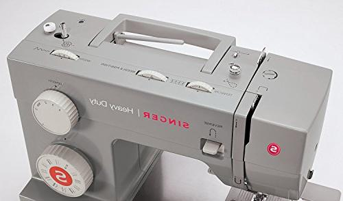 SINGER Heavy Sewing Built-In Decorative Stitches, & Automatic Perfect Sewing Types Ease