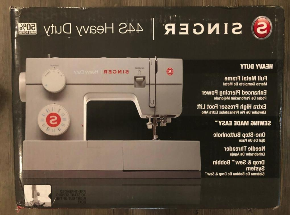 44s heavy duty sewing machine with 23