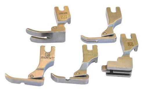 5 presser feet
