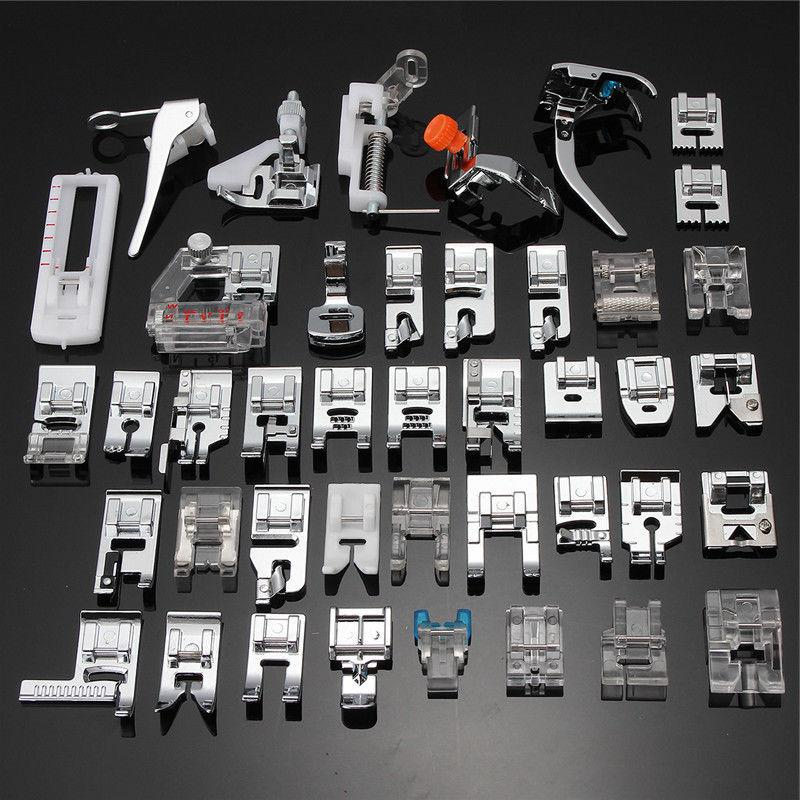 52pc presser foot feet for brother singer