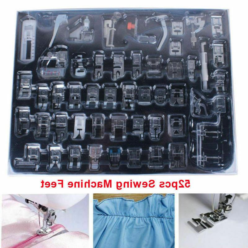52pcs/set Presser Sewing Machine Tool
