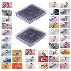 52Pcs Presser Foot Feet For Brother Singer Janome Domestic S