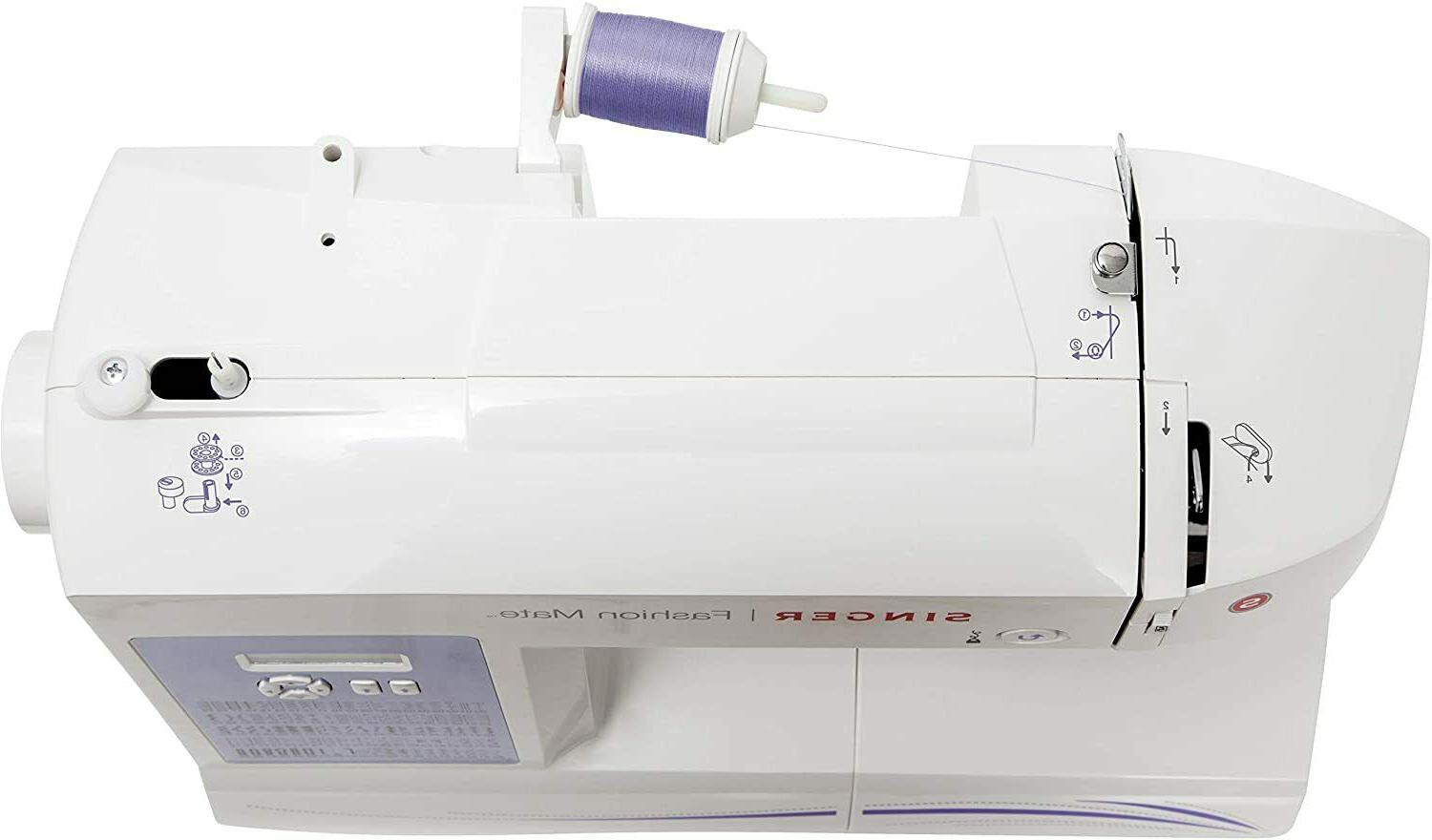 Singer Fashion Mate 5560 Sewing Machine with Built-In Stitches - Refurbished