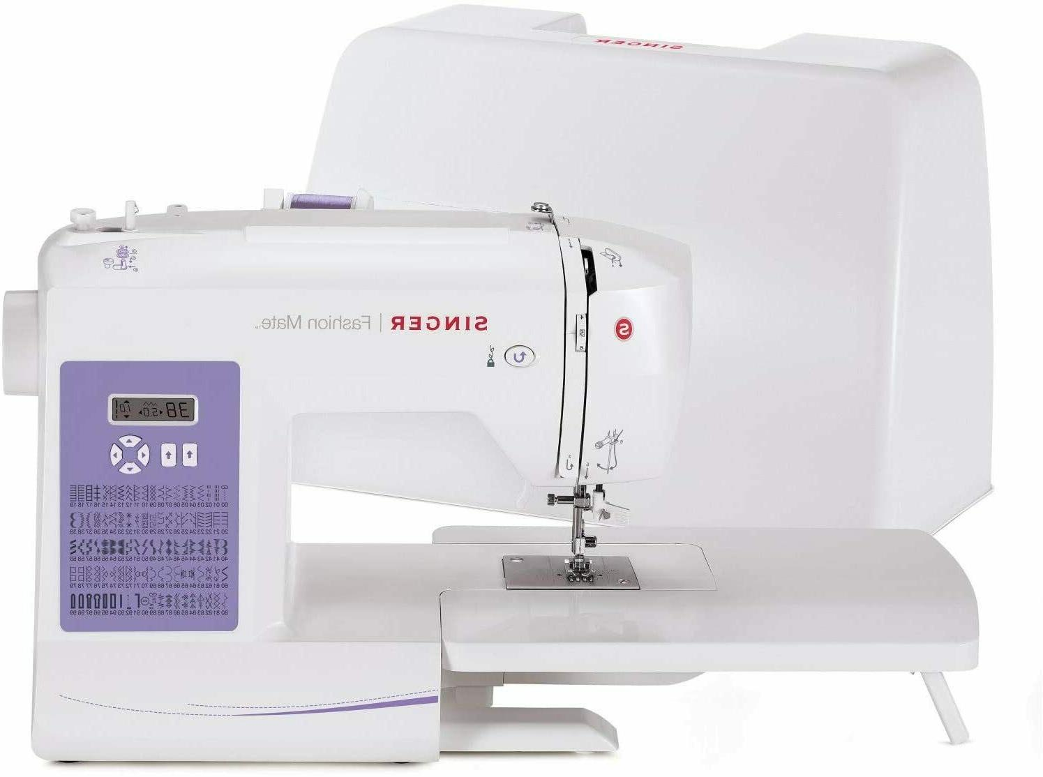 fashion mate 5560 sewing machine with 100