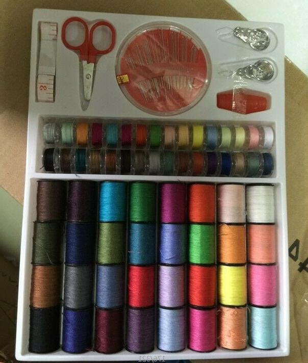 64 rolls sewing machine line thread spool