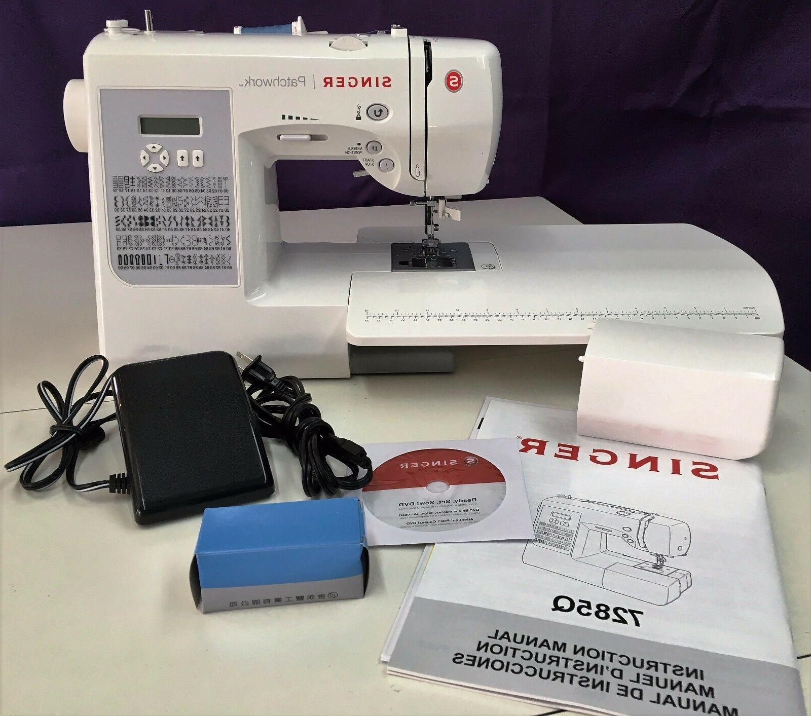 SINGER 7285Q PATCHWORK NEWEST QUILTING & SEWING MACHINE Auth