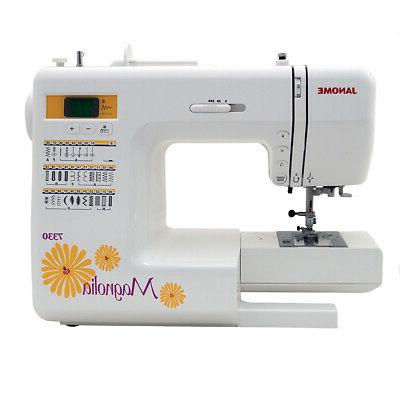 Janome 7330 Sewing Machine with Bundle