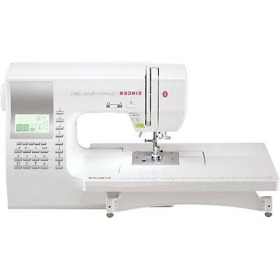 9960 quantum stylist computerized sewing machine new