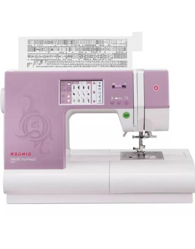 9985 quantum stylist touch electronic sewing machine