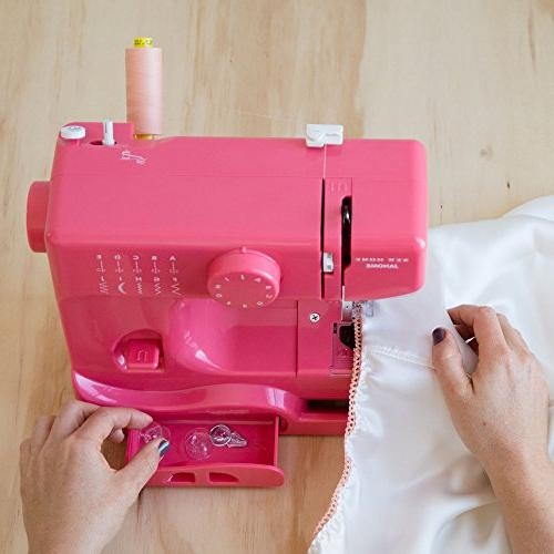 Janome Easy-to-Use, Sewing with Arm only 5