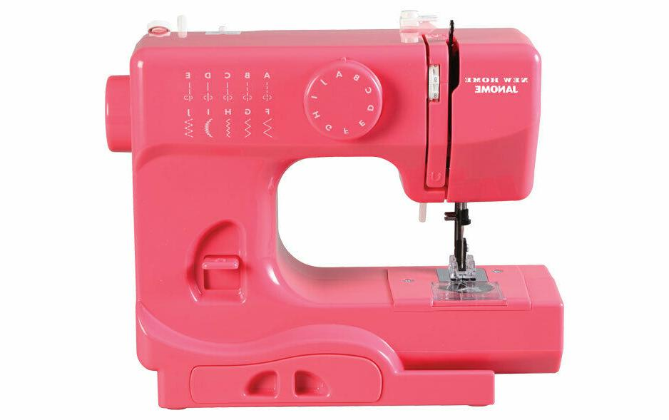 Janome Pink Lightning Basic, Easy-to-Use, 10-Stitch Portable