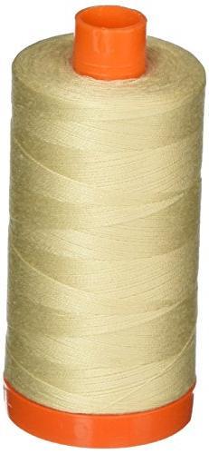 Aurifil A1050-2310 Mako Cotton Thread Solid 50WT 1422Yds Lig