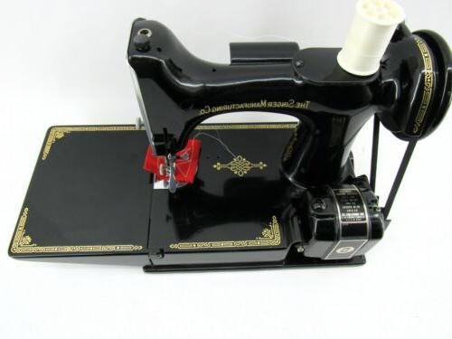 Amazing 221 Singer Centennial Featherweight Sewing w/Case