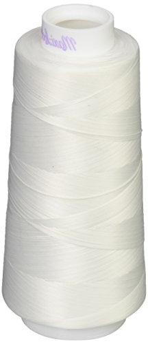 American & Efird AME54.32109 White Maxi Lock Stretch Thread,