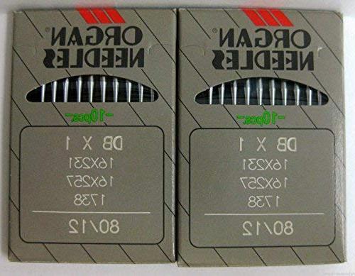 90//14 20 Organ DB x1  Bernina  950 Industrial Sewing Machine Needles