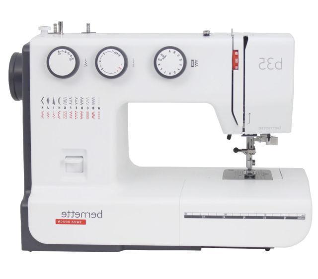 Bernina Bernette b35 Sewing Machine Swiss Design NEW IN BOX-