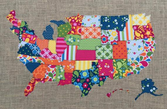 BonEful FABRIC Cotton Quilt Travel Sewing