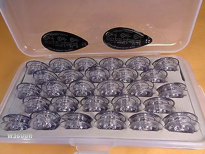 Box 28 Genuine Clear BOBBINS Singer 2010 4613 4617 4623 6234