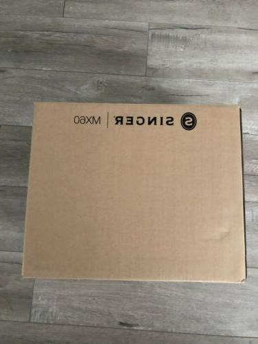 brand new 230281412 mx60 white sewing machine