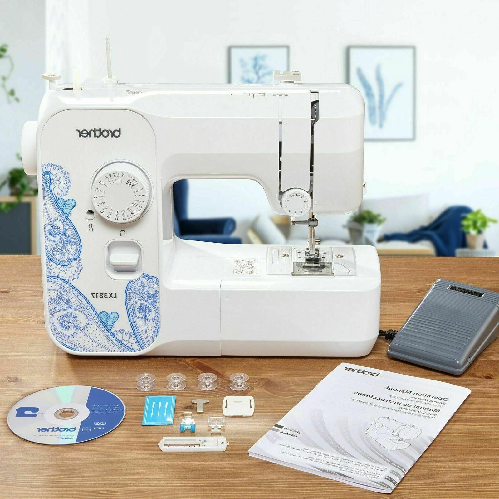 BRAND Sewing LX3817A Aqua Blue