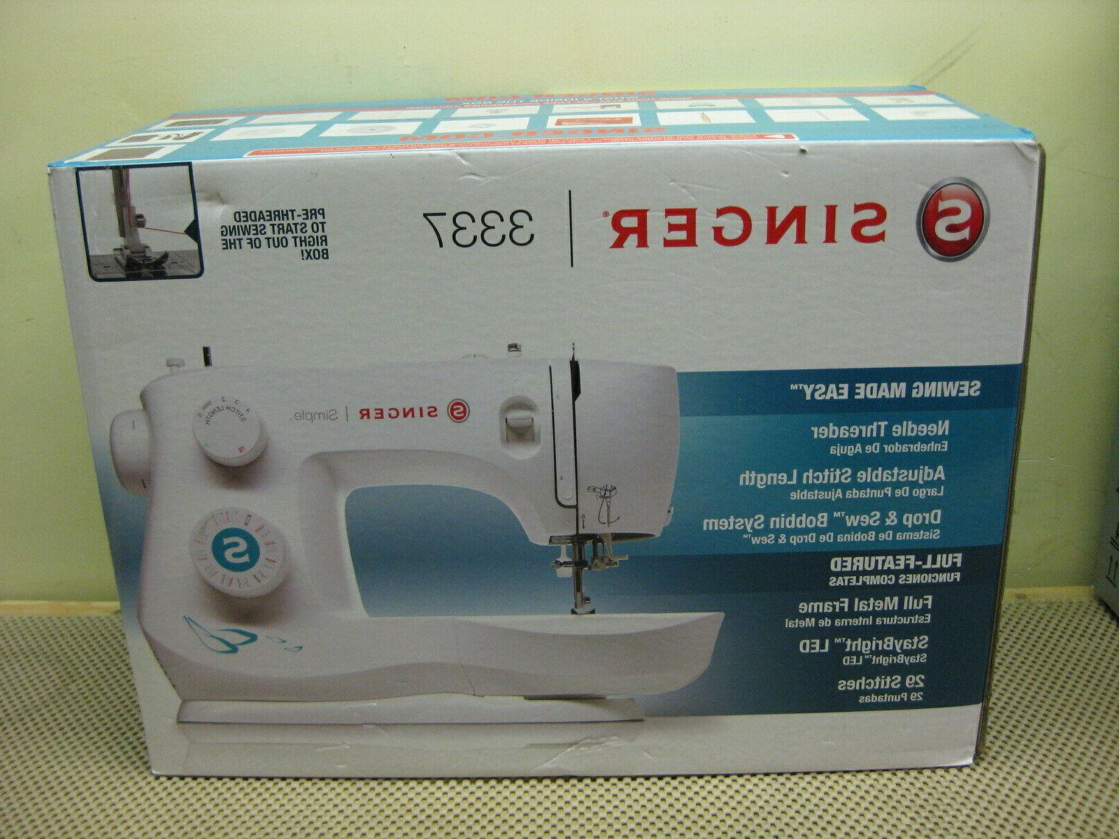 brand new sealed 3337 simple 29 stitch
