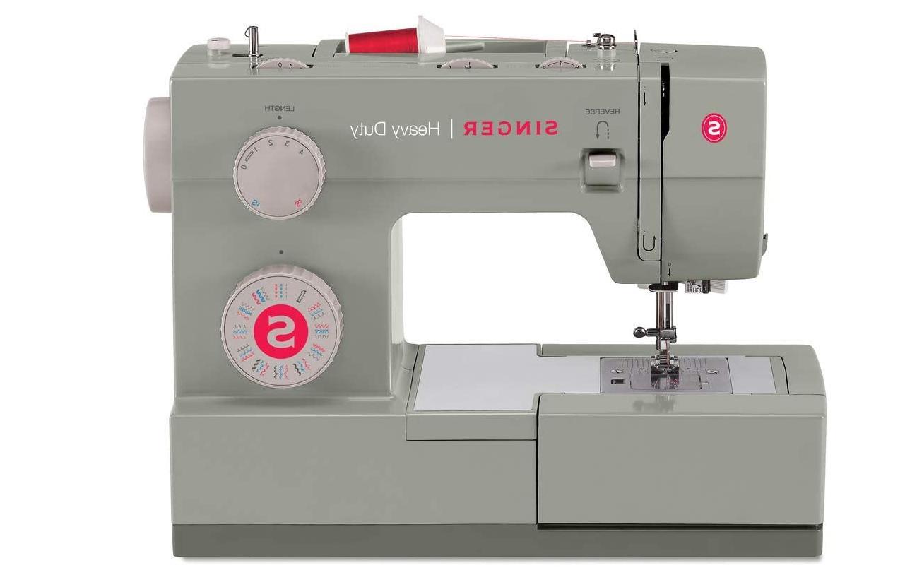 brand new sewing machine 4452 heavy duty