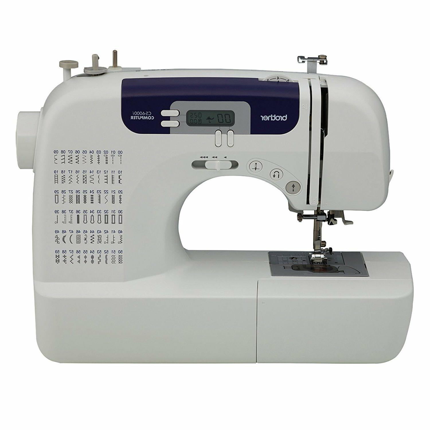 brother cs6000i 60 stitch computerized sewing machine