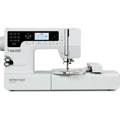 Bernette Chicago 7 Embroidery Sewing Machine New with Lifeti