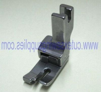 compensating presser foot for industrial sewing machines