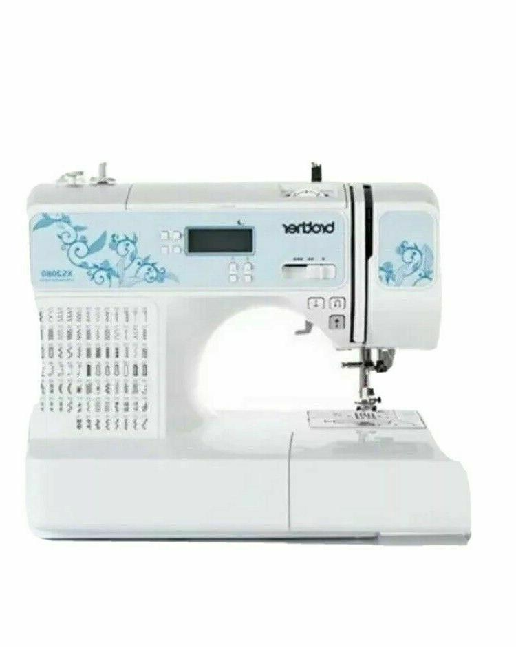 Brother Computerized 80Stitch Sewing Machine with Foot Packa