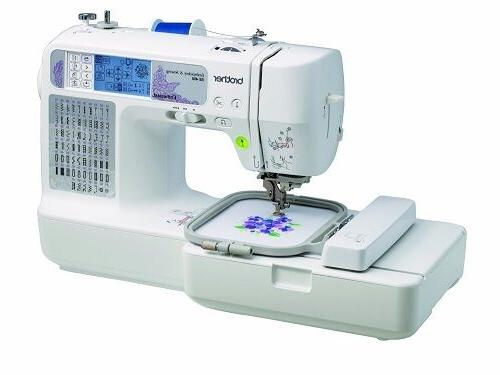 Brother Computerized Embroidery Sewing Machine Stitching wit