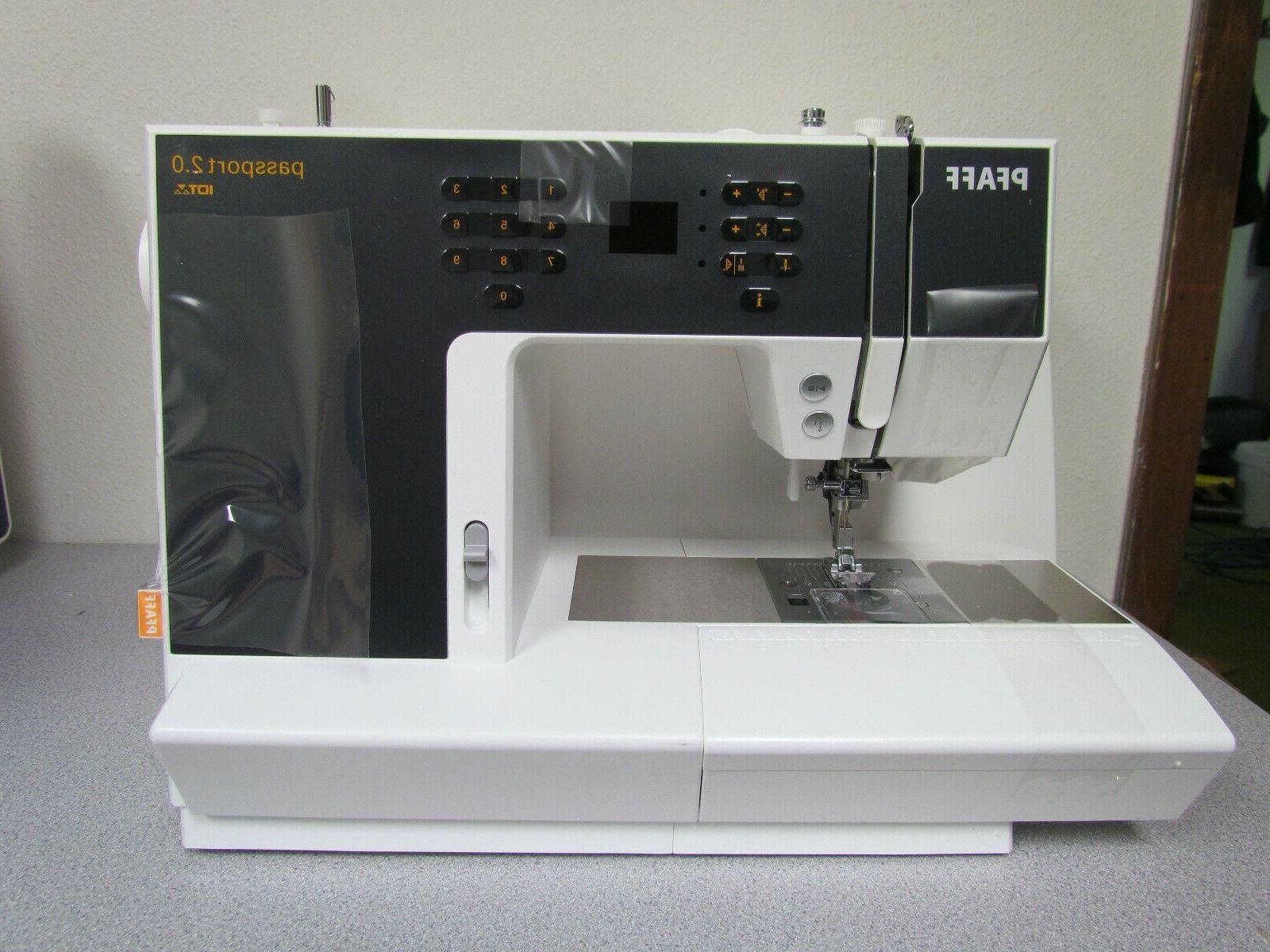 computerized quilting sewing machine model passport 2