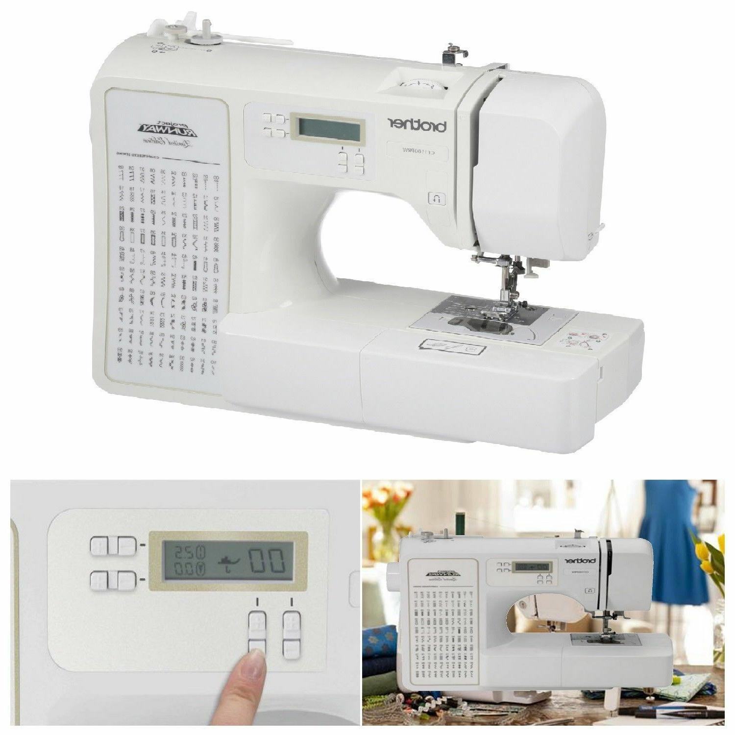 Brother Sewing Machine 100-Stitch Electric