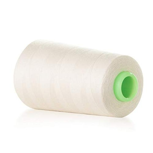 100% Cotton 40S/2 Sewing Thread 3400 Yards for Carpet, Making, General Stitching