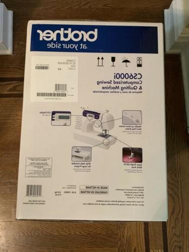 Brother CS6000i 60-Stitch Sewing Machine, SHIP TODAY