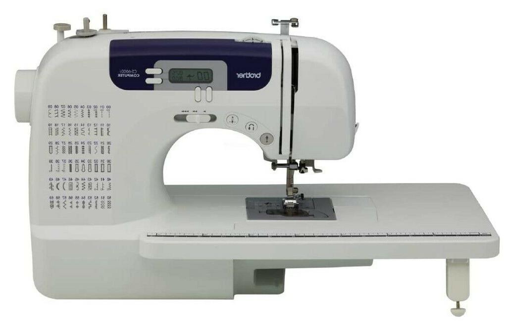 BrotherCS6000i 60-Stitch Machine Today