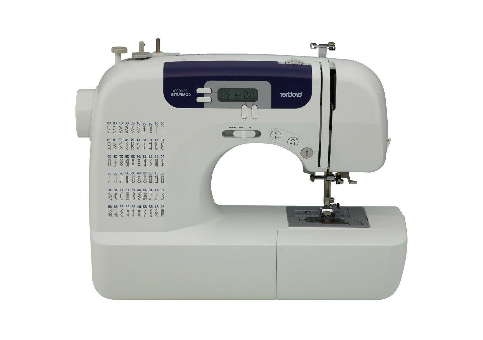 Brother CS6000i Feature-Rich Sewing Table