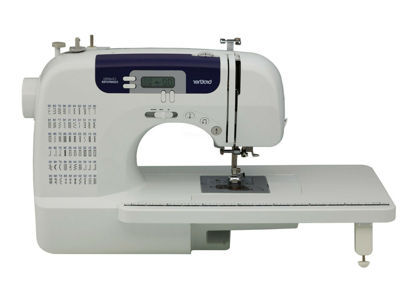 cs6000i feature rich computerized sewing machine