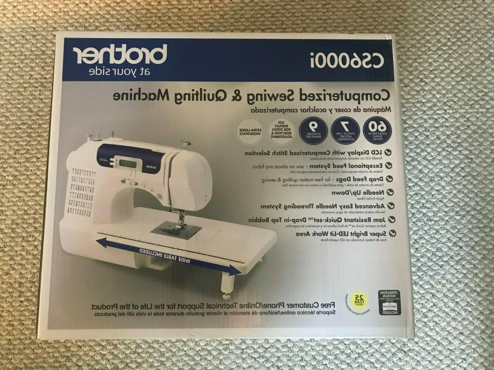 cs6000i sewing machine computerized in hand brand
