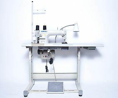 JUKI DDL-8700 Sewing Machine with Servo Motor, Stand & LED L