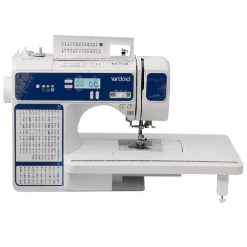 Brother Designio Series, DZ2400, Computerized Sewing Machine, Built-In Stitches, Backlit LCD Advanced Easy Needle Threading System, Variable Speed